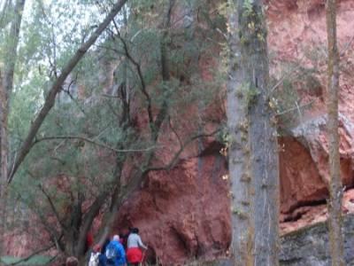 Yacimiento celtíbero de Tiermes y Hoz de Ligos;senderismo trekking viajes puente san jose